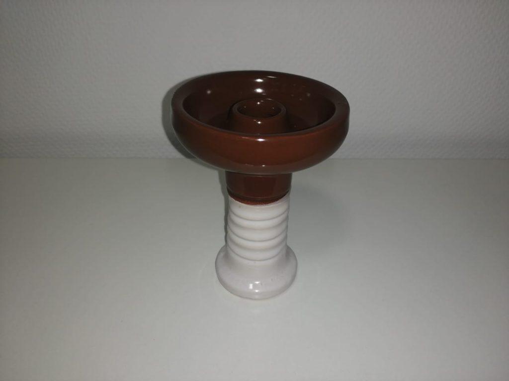 Чаша 2-х цветная Глина Глазурь